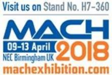 MACH Show at the NEC Birmingham in April 2018